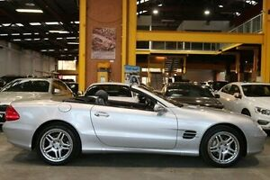 2002 Mercedes-Benz SL500 R230 Silver 5 Speed Sports Automatic Roadster Southbank Melbourne City Preview