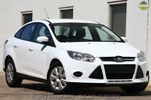 2013 Ford Focus LW MKII Ambiente PwrShift White 6 Speed Sports Automatic Dual Clutch Sedan Willagee Melville Area Preview