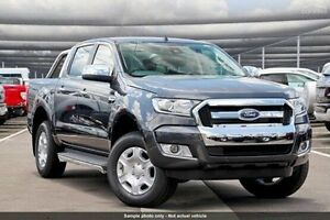 2017 Ford Ranger PX MkII XLT Double Cab 4x2 Hi-Rider Grey 6 Speed Sports Automatic Utility Invermay Launceston Area Preview