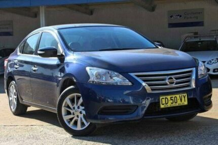2013 Nissan Pulsar B17 ST Blue 1 Speed Constant Variable Sedan Greenacre Bankstown Area Preview