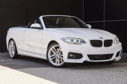 2016 BMW 228I F23 M Sport White 8 Speed Sports Automatic Convertible
