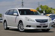 2010 Subaru Liberty B5 MY10 2.5i Lineartronic AWD White 6 Speed Constant Variable Wagon Moorooka Brisbane South West Preview