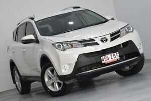 2014 Toyota RAV4 ALA49R MY14 GXL AWD White 6 Speed Sports Automatic Wagon Kedron Brisbane North East Preview