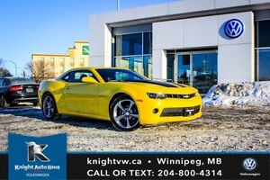 2014 Chevrolet Camaro 2LT RS w/ Leather/Winter + Summer Tires An