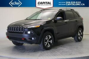 2016 Jeep Cherokee Trail hawk 4WD *Sunroof-Heated Seats/Steering