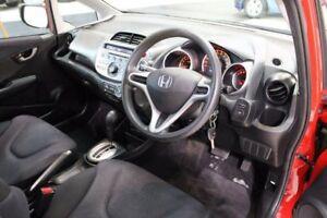 2009 Honda Jazz GE MY10 GLi Red 5 Speed Automatic Hatchback