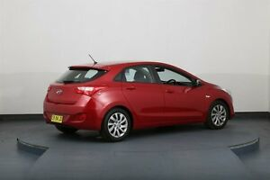 2014 Hyundai i30 GD MY14 Active Red 6 Speed Automatic Hatchback Smithfield Parramatta Area Preview