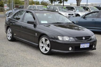 2002 Holden Commodore VY SS Black 4 Speed Automatic Sedan Wangara Wanneroo Area Preview