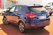 2014 Hyundai ix35 LM3 MY14 Highlander AWD Blue 6 Speed Sports Automatic Wagon Wangara Wanneroo Area Preview