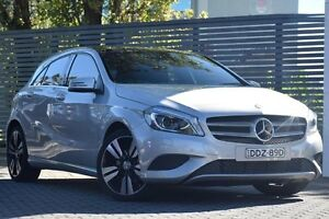 2014 Mercedes-Benz A200 CDI W176 D-CT Silver 7 Speed Sports Automatic Dual Clutch Hatchback Artarmon Willoughby Area Preview