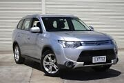 2014 Mitsubishi Outlander ZJ MY14.5 ES 4WD Silver 6 Speed Constant Variable Wagon Seaford Frankston Area Preview