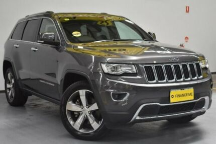 2014 Jeep Grand Cherokee WK MY15 Limited Mineral Grey 8 Speed Sports Automatic Wagon