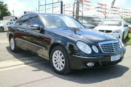 2007 Mercedes-Benz E350 211 MY07 Upgrade Elegance Black 7 Speed Automatic G-Tronic Sedan Brooklyn Brimbank Area Preview