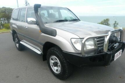 2004 Toyota Landcruiser HDJ100R GXL Grey 5 Speed Automatic Wagon South Gladstone Gladstone City Preview