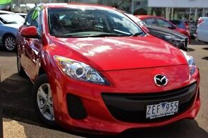 2012 Mazda 3 BL10F2 Neo Red 6 Speed Manual Hatchback Coburg Moreland Area Preview