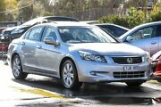 2008 Honda Accord 8th Gen V6 Luxury Silver 5 Speed Sports Automatic Sedan Ringwood East Maroondah Area Preview