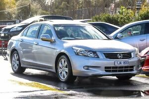 2008 Honda Accord 8th Gen V6 Luxury Silver 5 Speed Sports Automatic Sedan Ringwood East Maroondah Area Preview