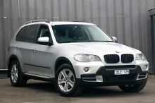 2010 BMW X5 E70 MY10 xDrive 30D Silver 8 Speed Sequential Auto Wagon Ringwood East Maroondah Area Preview