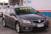 2012 Holden Cruze JH MY12 CD Charcoal 6 Speed Manual Hatchback Fyshwick South Canberra Preview