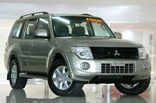 2013 Mitsubishi Pajero NW MY13 GLX-R Gold 5 Speed Sports Automatic Wagon Waitara Hornsby Area Preview