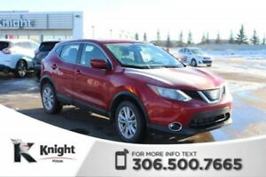 2018 Nissan Qashqai SV AWD Command Start! Heated Seats! Low KMs!