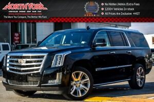 2017 Cadillac Escalade ESV Luxury 4x4|Sunroof|RearDVD|Nav|Heat S