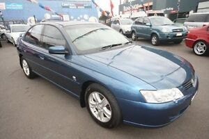 2003 Holden Commodore VY Equipe Blue 4 Speed Automatic Sedan Kingsville Maribyrnong Area Preview