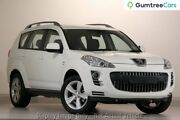 2010 Peugeot 4007 ST DCS Auto HDi White 6 Speed Sports Automatic Dual Clutch Wagon Osborne Park Stirling Area Preview