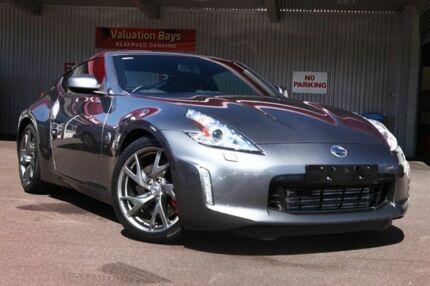 2012 Nissan 370Z Z34 MY13 Grey 7 Speed Auto Seq Sportshift Coupe Northbridge Perth City Preview