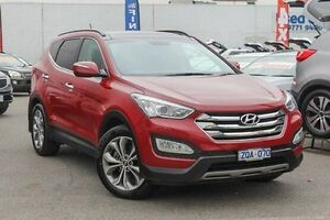 2013 Hyundai Santa Fe DM MY13 Highlander Red 6 Speed Sports Automatic Wagon Dandenong Greater Dandenong Preview