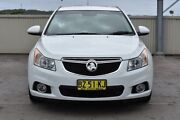 2014 Holden Cruze JH Series II MY14 Equipe White 6 Speed Sports Automatic Hatchback Gateshead Lake Macquarie Area Preview