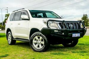 2015 Toyota Landcruiser Prado GDJ150R GXL White 6 Speed Sports Automatic Wagon Wangara Wanneroo Area Preview