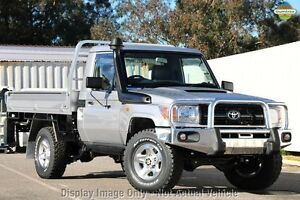2010 Toyota Landcruiser VDJ79R MY10 Workmate White 5 Speed Manual Cab Chassis Wangara Wanneroo Area Preview