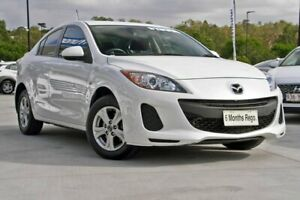 2013 Mazda 3 BL10F2 MY13 Neo Activematic White 5 Speed Sports Automatic Sedan Hillcrest Logan Area Preview