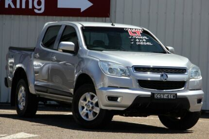 2014 Holden Colorado RG MY14 LT Crew Cab Silver 6 Speed Manual Utility Tuggerah Wyong Area Preview