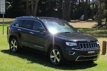 2014 Jeep Grand Cherokee WK MY15 Overland (4x4) Brilliant Black Crystal Pearl 8 Speed Automatic Wago Port Macquarie Port Macquarie City Preview
