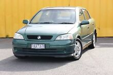 2000 Holden Astra TS MY2001 CD Green 4 Speed Automatic Hatchback Heatherton Kingston Area Preview