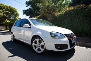 2006 Volkswagen Golf V MY07 GTI DSG White 6 Speed Sports Automatic Dual Clutch Hatchback Hove Holdfast Bay Preview