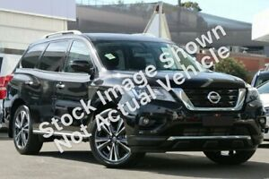 2018 Nissan Pathfinder R52 Series II MY17 Ti X-tronic 4WD Red 1 Speed Constant Variable Wagon Ravenhall Melton Area Preview