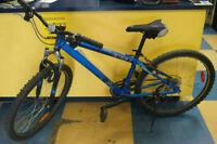 """Vélo de Montagne Miele Pulses bleu 15"""" 21 vitesse"""