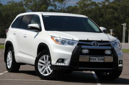 2014 Toyota Kluger GSU55R GX AWD Crystal Pearl 6 Speed Sports Automatic Wagon West Gosford Gosford Area Preview
