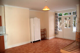 Light & Bright Spacious Semi Self contained Studio Flat in NW6 West Hampstead