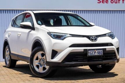 2016 Toyota RAV4 ZSA42R GX 2WD White 7 Speed Constant Variable Wagon Morley Bayswater Area Preview