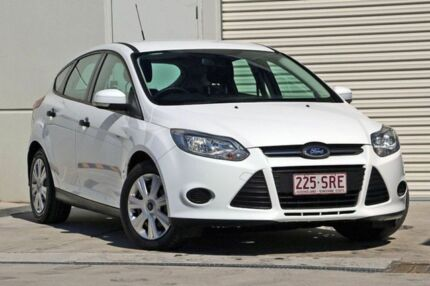 2012 Ford Focus LW Ambiente White 5 Speed Manual Hatchback Hillcrest Logan Area Preview