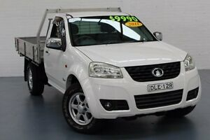2011 Great Wall V240 K2 White 5 Speed Manual Cab Chassis Glendale Lake Macquarie Area Preview
