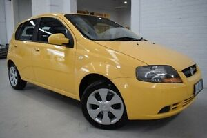 2008 Holden Barina TK MY08 Yellow 5 Speed Manual Hatchback West Launceston Launceston Area Preview