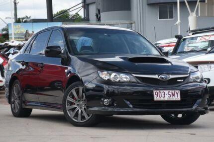 2009 Subaru Impreza G3 MY09 WRX AWD Black 5 Speed Manual Sedan Browns Plains Logan Area Preview