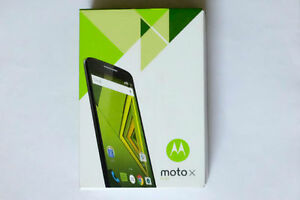 Moto x play brand new sealed, unlocked with incipio case & glass