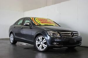 2008 Mercedes-Benz C200 W204 Kompressor Avantgarde Grey 5 Speed Auto Tipshift Sedan Underwood Logan Area Preview