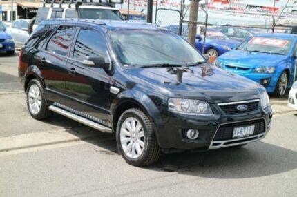2009 Ford Territory SY MY07 Upgrade Ghia (4x4) Black 6 Speed Auto Seq Sportshift Wagon Brooklyn Brimbank Area Preview